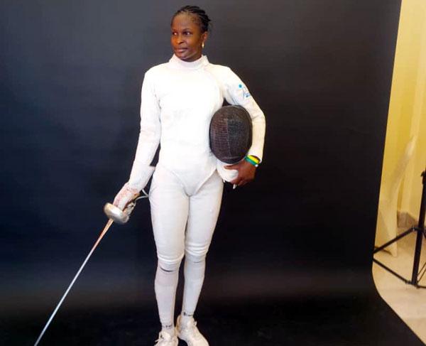 Jeux Tokyo : L'épéiste Ndèye Bineta Diongue qualifiée - Lequotidien - Journal d'information Générale